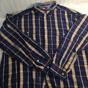 Tommy Hilfiger Flannel Shirt x Large